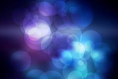 Красивая абстрактная праздничная предпосылка с bokeh Стоковые Изображения RF