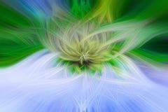 Красивая абстрактная предпосылка в голубых, зеленых, желтых и оранжевых тонах стоковая фотография