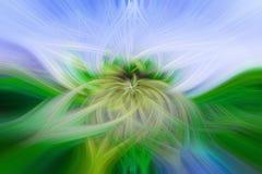 Красивая абстрактная предпосылка в голубых, зеленых, желтых и оранжевых тонах стоковое изображение