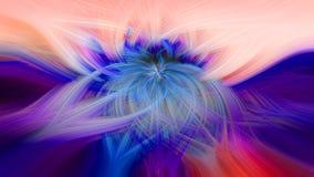Красивая абстрактная предпосылка в голубых, зеленых, красных, желтых и оранжевых тонах стоковая фотография rf
