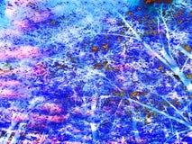 Красивая абстрактная предпосылка сени дерева бесплатная иллюстрация