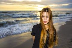 Красивая азиатская женщина Стоковое фото RF
