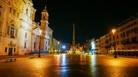 Красивая аркада Navona в Roma - квадрат Navona туристическая достопримечательность стоковые фото
