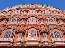 Красивая архитектура дворца ветра, Джайпура, Раджастхана, Индии Стоковая Фотография RF