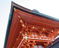 Красивая архитектура в виске Kiyomizu-Dera, Киото, Японии Стоковое Фото