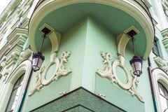 красивая архитектура коттеджа сказки Стоковые Фотографии RF