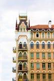 красивая архитектура коттеджа сказки Стоковая Фотография RF
