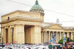 Красивая архитектура Санкт-Петербурга Станция метро стоковое фото
