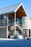 Красивая архитектура St Edmunds хоронити, городского центра, суффолька, Великобритании Стоковая Фотография