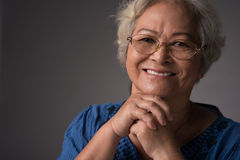 Красивая бабушка Стоковое Фото