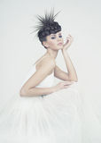 Красивая балерина Стоковое фото RF
