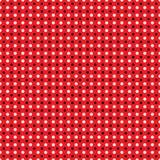 Красивая безшовная белая черная картина точек польки на красной предпосылке Бесплатная Иллюстрация