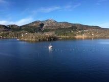 Красивая береговая линия в северной Норвегии Стоковое Изображение RF