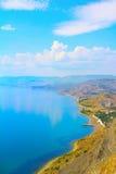 Красивая береговая линия моря Стоковые Изображения
