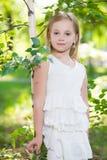 Красивая белокурая девушка Стоковое Изображение RF