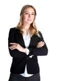 Красивая бизнес-леди Стоковое Изображение