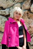 Красивая блондинка Стоковые Фотографии RF