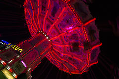 Красивая весел-идти-круглая на Oktoberfest в Мюнхене Стоковые Изображения RF