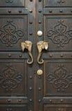 Красивая винтажная дверь Стоковая Фотография RF
