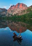 Красивая восточная сцена Сьерры стоковое фото