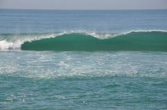 Красивая волна принятая на пляж Дурбана Стоковая Фотография