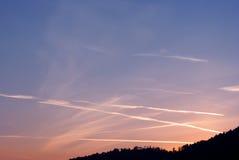 Красивая волшебная солнечность Стоковая Фотография RF