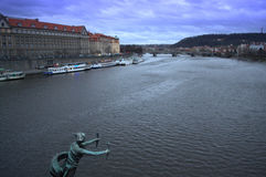Красивая выравниваясь Прага Стоковое фото RF
