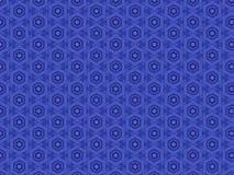 Красивая голубая предпосылка шнурка Стоковая Фотография