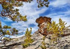 Красивая гора в Казахстане Стоковое Фото