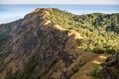 Красивая гора в Monjong, Чиангмае, Таиланде Стоковые Изображения RF