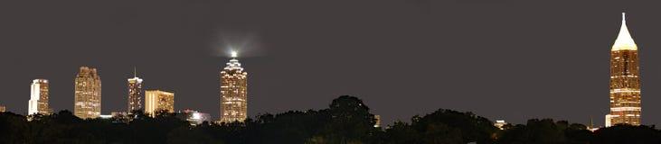 Красивая городская Атланта стоковая фотография rf