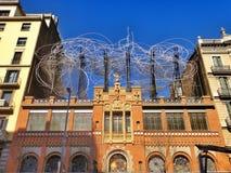 Красивая городская архитектура, Барселона Стоковые Фото