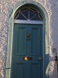 Красивая грузинская дверь Стоковые Фотографии RF