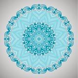 Красивая декоративная мандала Этнические декоративные элементы кругло бесплатная иллюстрация
