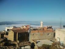 Красивая деревня в Алжире стоковое изображение rf