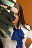 Красивая девушка в красивом городе Стоковая Фотография RF