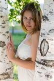 Красивая девушка в красивом городе Стоковое Изображение RF