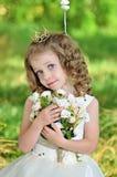 Красивая девушка на природе Стоковое фото RF
