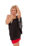 Красивая девушка с ювелирными изделиями Стоковое Изображение RF