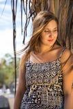 Красивая девушка Стоковые Изображения RF