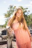 Красивая девушка Стоковое Фото