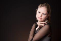 Красивая девушка 4 Стоковое Фото