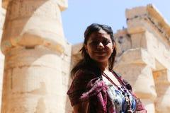 Красивая египетская женщина стоковые фото