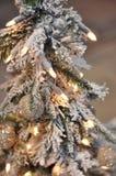 Красивая декоративная рождественская елка Стоковое фото RF