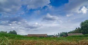 Красивая деревня Стоковая Фотография RF