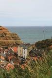 Красивая деревня harbourside, северный Йоркшир Стоковое Изображение