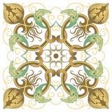 Красивая детальная орнаментальная картина Стоковая Фотография RF