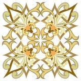 Красивая детальная орнаментальная картина Стоковое Изображение RF