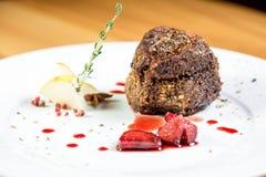 Красивая еда ресторана Стоковая Фотография