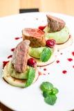 Красивая еда ресторана Стоковые Изображения